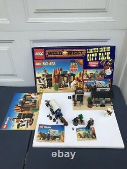 1996 Lego Wild West Limited Edition Gift Pack 3 Sets 6755 6712 6716 Rare
