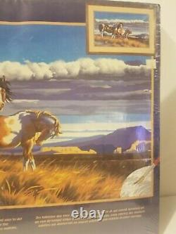 3 Lot Bundle Vintage Sealed Paint By Numbers Dimensions Horses Cottage Rare New