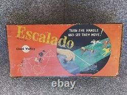 Chad Valley Vintage 1940s Escalado Horse Racing Game With 10 Horses RARE GC