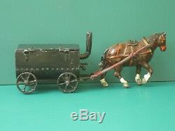 Charbens Horse-drawn Pitch Boiler Rare Vintage Lead