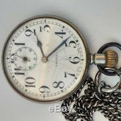 Doxa Huge Swiss Pocket Watch Antique Case Figural 1905 Rare Hors Concours