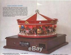 EXTREMELY RARE McCoys 30 Horse Carousel 8 Track Player Train McCoy NICE Vintage