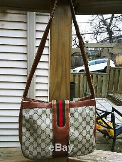 Gucci ULTRA RARE Authentic Vintage Equestrian Bag