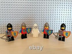 Lego 6081 King's Mountain Fortress Vintage Figures Rare Ghost Knight Horses