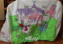 My Little Pony Tent Vintage 1983 Hasbro Rare Play House, Play Tent G1