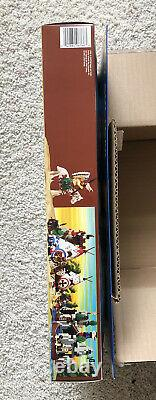 New Rare Retired LEGO Wild West Rapid River Village 6766-343 Pcs In Sealed Box