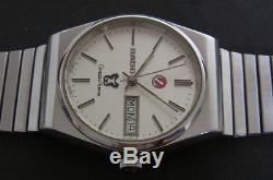 Nice & Rare Vintage Rado Green Horse Day/date Automatic Swiss Made Watch