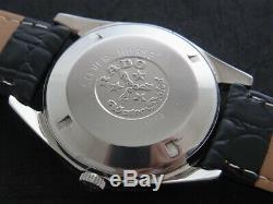 Nice & Rare Vintage Rado Silver Horse Automatic 25 Jewels Swiss Made Watch