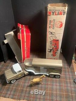 Nylint 6300 Horse Van 6-540 Truck Farm Vintage Toy With Boxes Rare Nice