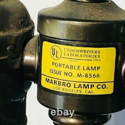 Pair Of Mid-Century Marbro Bronze Horse Sculpture Table Lamps Hand Crafted RARE