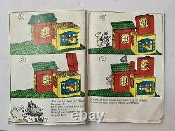 RARE 1986 LEGO Fabuland 3679 Flour Mill And Shop with Instructions NEAR COMPLETE