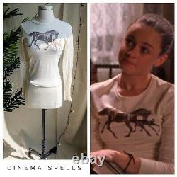 RARE 90s Vintage ASO Rory in Gilmore Girls Horse Long Sleeve Top (Fits S/M)