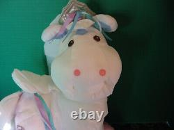 RARE, PROTOTYPE, Vintage 1987 Fisher Price Puffalump Horse 16 Tall