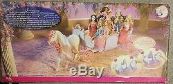 RARE Vintage Barbie The 12 Dancing Princesses Expandable Horse & Carriage NEW