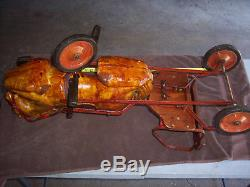 Rare Antique / Vintage Child's Ride-on Pedal Horse Toy / PEDAL CAR / 1940s-1950s