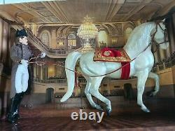 Rare Limited Edition Breyer Lipizzaner On The Long Rein VINTAGE Horse