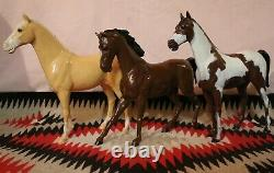 Rare Minty Vintage Marx Johnny West Family, Horses, Boxes, Accs, Complete sets