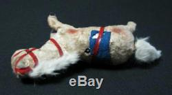 Rare Old Early 1950's Vintage Wind Up Running Plush Horse Toy Doll Working See