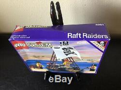 Rare Sealed 1992 Lego Raft Raiders 6261 Pirates Vintage New Old Stock