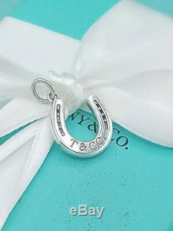 Rare Tiffany & Co Vintage Lucky Silver Horse Shoe Pendant Charm Great Condition