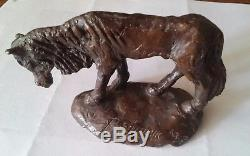 Rare Vintage Original Ted Degrazia Bronze Horse Sculpture Signed And Numbered