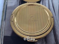SUPERB RARE VINTAGE 1950s LARGE STRATTON RACEHORSE HORSE POWDER COMPACT GIFT