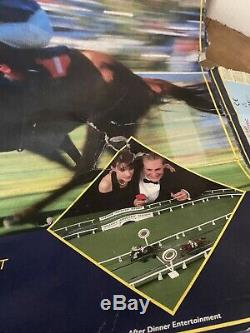 Scalextric Ascot Rare Boxed Horse Racing Electric Slot Game Vintage Retro 1991