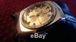 Super Rare & Collectable Vintage RADO Silver Horse Gents Automatic Swiss Watch