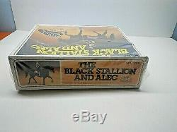 The Black Stallion And Alec, Horse & Accessories No. 3000 Vintage 1981, RARE