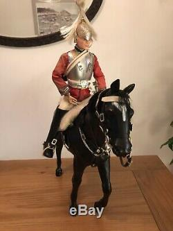 VINTAGE 1970s TOY ACTION MAN PALITOY LIFE GUARD SOLDIER & HORSE VERY RARE BOX