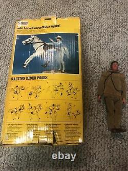 VINTAGE 1973 THE LONE RANGER & HIS SILVER HORSE Gabriel And Tonto RARE