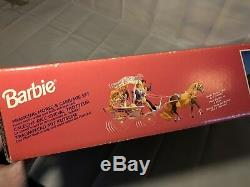 Very Rare Barbie Prancing Horse and Carriage NIB 1994