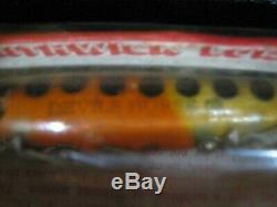 Very Rare Original Unopened Devil's horse F125 Smithwick Lures Vintage 4 inches