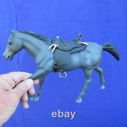 Vintage 1966 BONANZA American Character RARE OUTLAW figure and horse