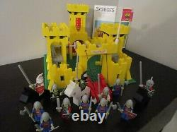 Vintage (1978) LEGO Classic Knights set 375 / 6075 Yellow Castle VERY RARE