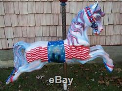 Vintage, 50`s, full size, carousel, horse, making, mold, rare one of a kind. C-5