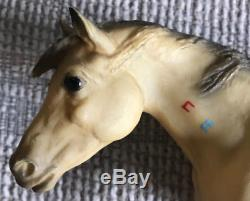 Vintage Breyer Traditional Rare Matte Indian Pony With Warpaint 177 Horse