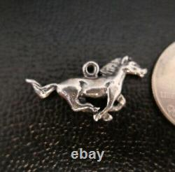 Vintage JAMES AVERY RETIRED STERLING SILVER HORSE CHARM RARE FIND