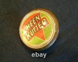 Vintage Keen Kutter HORSE BRIDLE ROSETTES pair of two VERY RARE