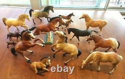 Vintage Lot (60s/70s) of Breyer Horses Excellent and Rare