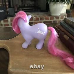 Vintage My Little Pony MLP G1 Mail Order SWEET SCOOPS 1983 VERY RARE