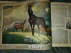 Vintage Portraitures of Horses by George Ford Morris Good Cond. RARE