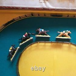 Vintage Rare Sweepstakes Electromatic Horse Racing Game 4 Horses Working Boxed