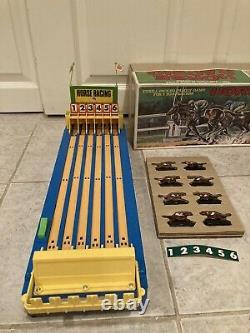Vintage SHINSEI 1960s Horse Racing Game Rare Find Japan