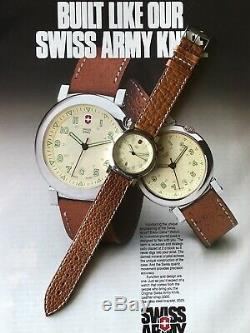 Vintage Swiss Army Cavalry DELTA Watch. Very Rare And Unique 90s Watch. Mens