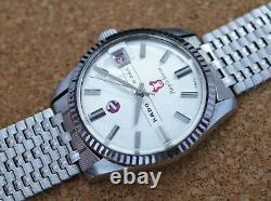 Vintage mens Rado Purple Horse automatic all stainless steel with bracelet rare