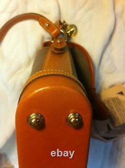 Vtg Dooney&Bourke AWL Cavalry Small Spectator R89 RARE MUSHROOMBRAND NEW withtags