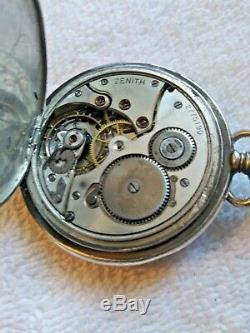 ZENITH Pocket Watch RARE hors Concours Milan Geneve 1906